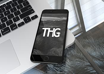 THG logo project
